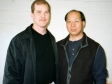 Carl Dechiara and his teacher Master Kenneth Chung